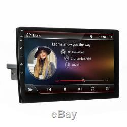 Radio 10.1 '' Adjustable Android 8.1 Wifi Gps Navi Stereo 1 Din Touchscreen