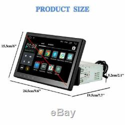 Radio 10.1 With Android Navigation Navi Bluetooth Touch Wifi Gps 1 Din Mp5