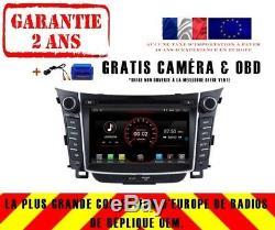 Radio DVD Gps Navi Android 9.1 Wifi Dab + Carplay Hyundai I30 2011-17 K5724