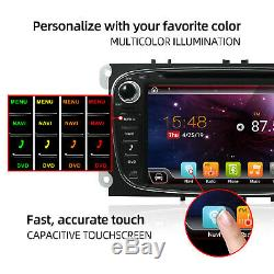 Radio For Ford Focus Mondeo Galaxy C / S-max Android 10 Gps Navi Usb CD / DVD 4g