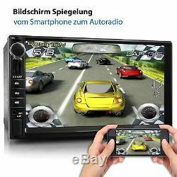 Radio With Android 10 Hd Mp5 Wifi Gps Navi Bluetooth 2din Dab 4core 32gb