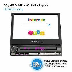 Radio With Android October 2 32gb Wifi Bluetooth Gps Navi 3g 4g Dab Obd2 1din
