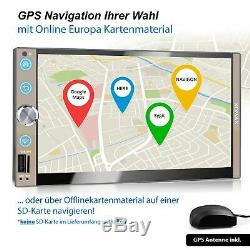 Radio With Android October 2 32gb Wifi Bluetooth Gps Navi 3g 4g Dab Obd2 2din