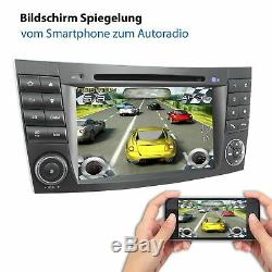 Radio With Android October 32 GB For Mercedes W211 W219 W463 Wlan Navi