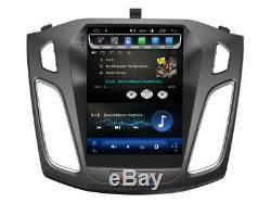 Tesla DVD Gps Navi Bt Android 8.1 Dab + Wifi Car Radio Ford Focus 2012-17 Tk1458