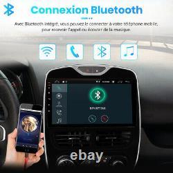 10Android10 Autoradio 2+32GB Pour Renault Clio 4 2012-2016 DAB WIFI GPS Navi BT