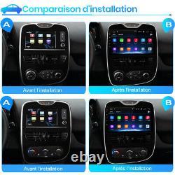 10Android10 Car Autoradio Pour Renault Clio 4 2012-2016 WIFI GPS Navi DAB+2+32G