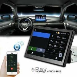 10.1 1DIN Android 1080P Autoradio GPS Navi MP5 player Bluetooth USB WiFi+caméra