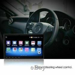 10.1 1DIN Android Bluetooth Autoradio GPS Navi MP5 Player Écran tactile+caméra