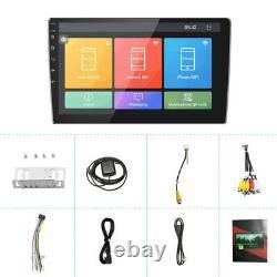 10.1 2Din Android 9.1 Autoradio stéréo GPS Navi MP5 Player BT FM écran tactile