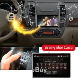 10.1 8-Core Autoradio Stéréo Android 8.0 GPS Navi Bluetooth WiFi Écran Tactile