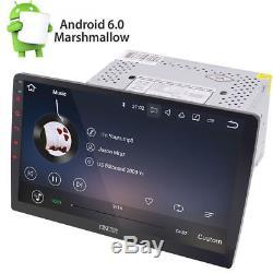 10.1 Android 6.0 Double Din Autoradio GPS Navi WiFi Écran tactile Stéréo No-DVD