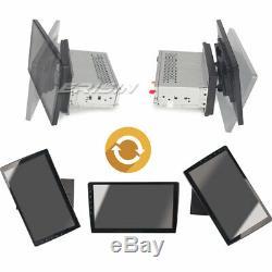 10.1 Android 9.0 1 Din Autoradio DAB+Navi GPS TNT WiFi 4G USB Bluetooth RDS OBD