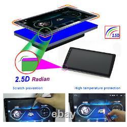 10.1 Android 9.1 Autoradio GPS Navi MP5 Player écran tactile stéréo BT FM 2DIN