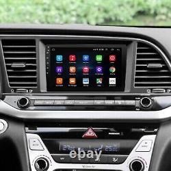 10.1 Android Autoradio Stéréo Lecteur MP5 GPS Navi Double 2Din Wifi + Caméra A