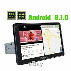 10.1'' Android simple1 Din voiture stéréo DSP Navi GPS avec 4+32 Go Fast Boot BT