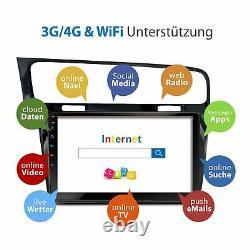 10.1 Autoradio Avec Android 10 Approprié Pour Vw Golf7 2013-2017 2gb Wifi Navi