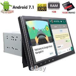 10,1 Bluetooth 2DIN Android7.1 Autoradio GPS Navi Lecteur 16G WiFi 4Core Sat 3G