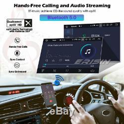 10.1 Double Din Rotatif Autoradio Android 9.0 DAB+WiFi DSP CarPlay TNT GPS Navi