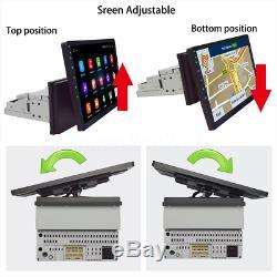 10.1'' Rotation Android 8.1 Autoradio Stereo 1 Din GPS Navi bluetooth WIFI DAB+