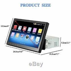 10.1 Single 1 DIN Android Touchscreen Autoradio GPS Quad Core USB Navi SD Wifi