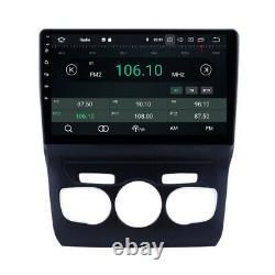 10.1 Tactile Android Autoradio Navi GPS Carplay Bluetooth pour Citroën C4L