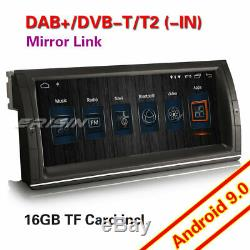 10.25 DAB+Autoradio Android 9.0 NAVI WIFI DVR TNT 4G for BMW 5ER E39 X5 E53 M5