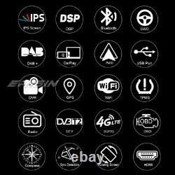 12.2 Android 9.0 IPS Universal Autoradio CarPlay DSP DAB+ 2Din Navi Tesla Style