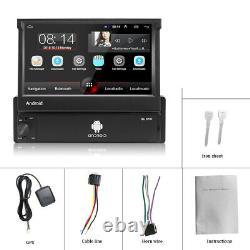 1 Din 7'' Autoradio GPS Navi MP5 USB FM Bluetooth Écran tactile Wifi Android 8.1