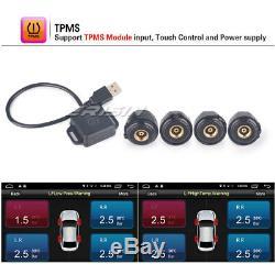 1 Din Autoradio Android6.0 DAB+WiFi GPS OBD TNT-IN 4G DVR TPMS BT Navi CD USB SD
