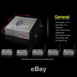 1 Din Autoradio Seul Amovible DAB+ Navi Bluetooth GPS DVD Mirror DTV FM 76588FR