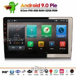 1 Din TNT DAB+ Android 9.0 Autoradio GPS WiFi MP3 Bluetooth AUX TNT CAM-IN Navi