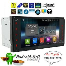 2DIN Android 9.0 Autoradio GPS Navi for TOYOTA COROLLA Prado RAV4 VIOS HILUX