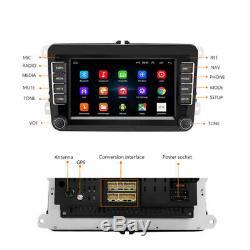 2DIN Autoradio 7'' Android 8.1 + Caméra GPS Navi BT FM Für VW GOLF 5 PASSAT POLO