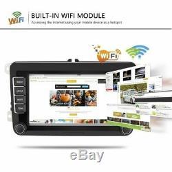 2DIN Autoradio 7'' Android 8.1 GPS Navi Bluetooth FM Für VW GOLF 5 PASSAT POLO