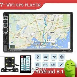 2DIN Autoradio Android8.1 4Core GPS NAVI Player Bluetooth WIFI Caméra de recul