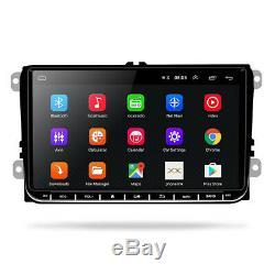 2DIN Autoradio Android 6.0 GPS Navi Bluetooth pour VW GOLF 5 PASSAT POLO Caddy