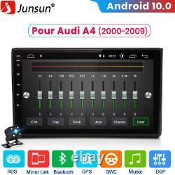 2DIN Autoradio Pour Audi A4 2000-2009 Android 10 GPS Navi DAB+ WIFI DSP USB 32G