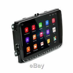 2DIN GPS Navi Autoradio Android 6.0 Bluetooth Pour VW GOLF 5 PASSAT TOURAN POLO