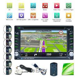 2DIN WiFi Android 8.1 Autoradio GPS Navi Voiture DVD Player BT AM/FM/RDS 6.2 EU