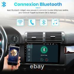 2G+32G Android 10.0 2Din 9Autoradio GPS Navi BT WiFi SWC pour BMW E39 1996-2003