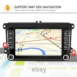 2 DIN 7 Autoradio Android GPS Navi RDS Pour VW GOLF 5 6 Passat Touran Jetta EOS