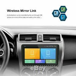 2 DIN 9'' Autoradio GPS +Caméra Navi Android Bluetooth Pour VW GOLF PASSAT POLO