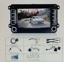 2 DIN AUTORADIO GPS NAVI DVD BLUETOOTH Für VW GOLF 5 PASSAT TOURAN TIGUAN POLO