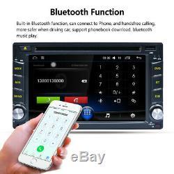 2 DIN Autoradio GPS MP5 Player Navi Radio Stéréo Android 8.1 Voiture DVD EU