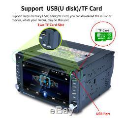 2 DIN Autoradio GPS Navi Radio Stéréo Android 8.1 Voiture DVD MP5 Player Stereo