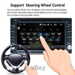 2 DIN Autoradio GPS Navi Radio Stéréo Voiture DVD MP5 Player FM/RDS Bluetoo EU