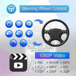 2 Din 10.1 Autoradio Android 9.1 GPS NAVI écran tactile BT WIFI MP5 + caméra