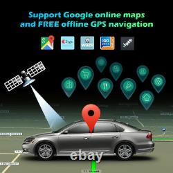 2 Din Universal DAB Autoradio GPS Navi CarPlay Android Car Multimedia HDMI 12.2