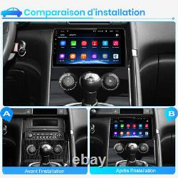 2din Autoradio Android DAB stereo GPS USB Navi Pour PEUGEOT 3008 2013-2015 DSP